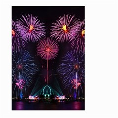 Happy New Year New Years Eve Fireworks In Australia Large Garden Flag (two Sides)