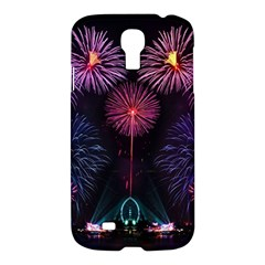 Happy New Year New Years Eve Fireworks In Australia Samsung Galaxy S4 I9500/i9505 Hardshell Case