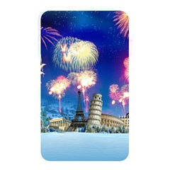 Happy New Year Celebration Of The New Year Landmarks Of The Most Famous Cities Around The World Fire Memory Card Reader