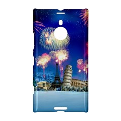 Happy New Year Celebration Of The New Year Landmarks Of The Most Famous Cities Around The World Fire Nokia Lumia 1520