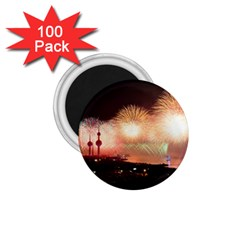 Kuwait Liberation Day National Day Fireworks 1 75  Magnets (100 Pack)