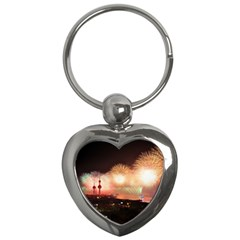 Kuwait Liberation Day National Day Fireworks Key Chains (heart)