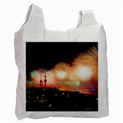 Kuwait Liberation Day National Day Fireworks Recycle Bag (one Side)