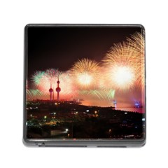 Kuwait Liberation Day National Day Fireworks Memory Card Reader (square)