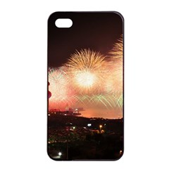 Kuwait Liberation Day National Day Fireworks Apple Iphone 4/4s Seamless Case (black)