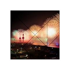 Kuwait Liberation Day National Day Fireworks Acrylic Tangram Puzzle (4  X 4 )
