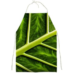 Leaf Dark Green Full Print Aprons