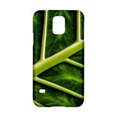 Leaf Dark Green Samsung Galaxy S5 Hardshell Case