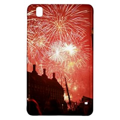London Celebration New Years Eve Big Ben Clock Fireworks Samsung Galaxy Tab Pro 8 4 Hardshell Case