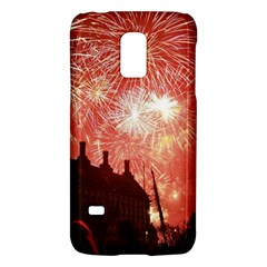London Celebration New Years Eve Big Ben Clock Fireworks Galaxy S5 Mini