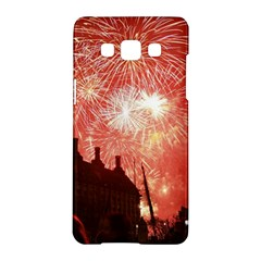 London Celebration New Years Eve Big Ben Clock Fireworks Samsung Galaxy A5 Hardshell Case