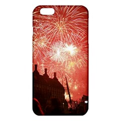 London Celebration New Years Eve Big Ben Clock Fireworks iPhone 6 Plus/6S Plus TPU Case