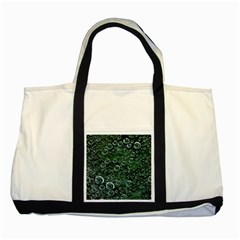 Morning Dew Two Tone Tote Bag