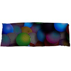 Multicolored Patterned Spheres 3d Body Pillow Case Dakimakura (two Sides)