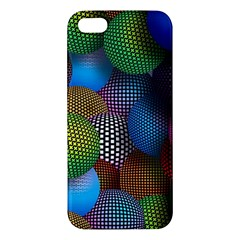 Multicolored Patterned Spheres 3d Iphone 5s/ Se Premium Hardshell Case