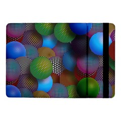 Multicolored Patterned Spheres 3d Samsung Galaxy Tab Pro 10 1  Flip Case