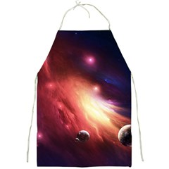 Nebula Elevation Full Print Aprons