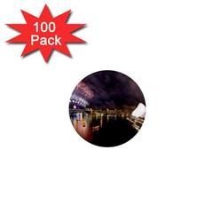 New Year's Evein Sydney Australia Opera House Celebration Fireworks 1  Mini Magnets (100 Pack)
