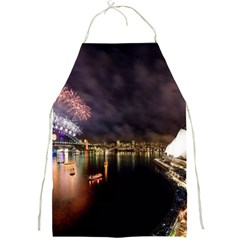 New Year's Evein Sydney Australia Opera House Celebration Fireworks Full Print Aprons