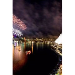 New Year's Evein Sydney Australia Opera House Celebration Fireworks 5 5  X 8 5  Notebooks