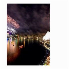 New Year's Evein Sydney Australia Opera House Celebration Fireworks Small Garden Flag (two Sides)