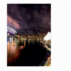 New Year's Evein Sydney Australia Opera House Celebration Fireworks Large Garden Flag (two Sides)
