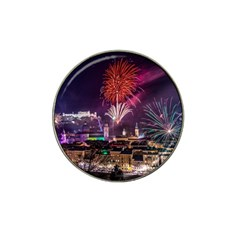 New Year New Year's Eve In Salzburg Austria Holiday Celebration Fireworks Hat Clip Ball Marker (10 Pack)