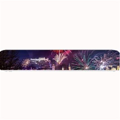 New Year New Year's Eve In Salzburg Austria Holiday Celebration Fireworks Small Bar Mats