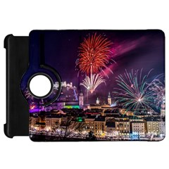 New Year New Year's Eve In Salzburg Austria Holiday Celebration Fireworks Kindle Fire Hd 7