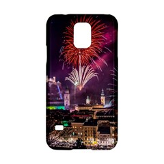 New Year New Year's Eve In Salzburg Austria Holiday Celebration Fireworks Samsung Galaxy S5 Hardshell Case