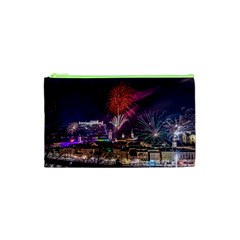 New Year New Year's Eve In Salzburg Austria Holiday Celebration Fireworks Cosmetic Bag (xs)