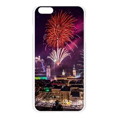 New Year New Year's Eve In Salzburg Austria Holiday Celebration Fireworks Apple Seamless iPhone 6 Plus/6S Plus Case (Transparent)