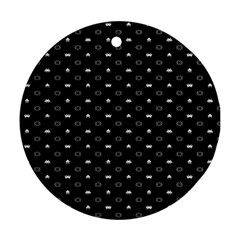 Space Black Ornament (Round)