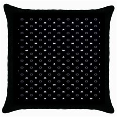Space Black Throw Pillow Case (Black)