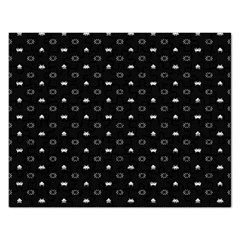 Space Black Rectangular Jigsaw Puzzl