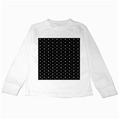 Space Black Kids Long Sleeve T-Shirts