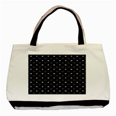 Space Black Basic Tote Bag (Two Sides)