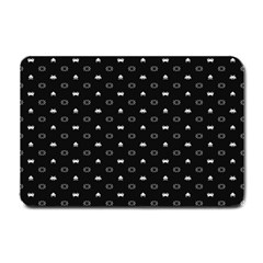 Space Black Small Doormat
