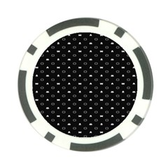 Space Black Poker Chip Card Guard