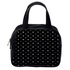 Space Black Classic Handbags (One Side)