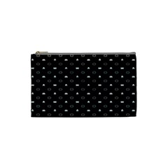 Space Black Cosmetic Bag (Small)