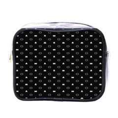 Space Black Mini Toiletries Bags