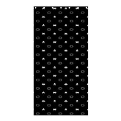 Space Black Shower Curtain 36  x 72  (Stall)