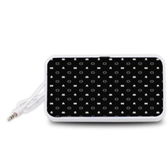 Space Black Portable Speaker (White)