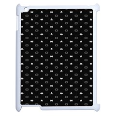 Space Black Apple iPad 2 Case (White)