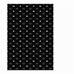 Space Black Small Garden Flag (Two Sides)