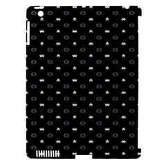 Space Black Apple iPad 3/4 Hardshell Case (Compatible with Smart Cover)