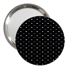 Space Black 3  Handbag Mirrors