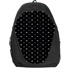 Space Black Backpack Bag