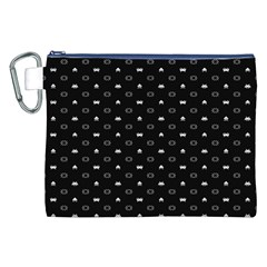 Space Black Canvas Cosmetic Bag (XXL)